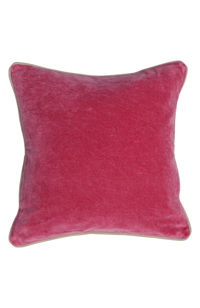 Villa home collection 39 heirloom 39 velvet pillow nordstrom for Villa home collection pillows