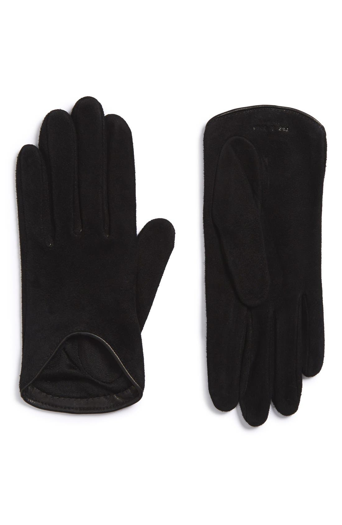 Main Image - rag & bone Leather Moto Gloves