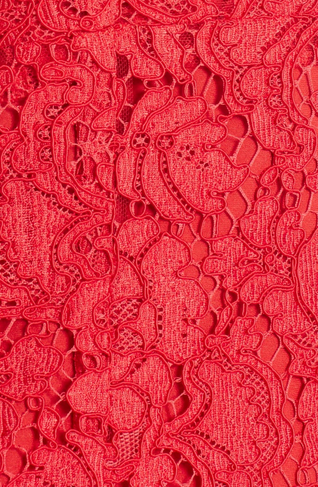 Alternate Image 3  - Dolce&Gabbana Square Neck Lace Dress