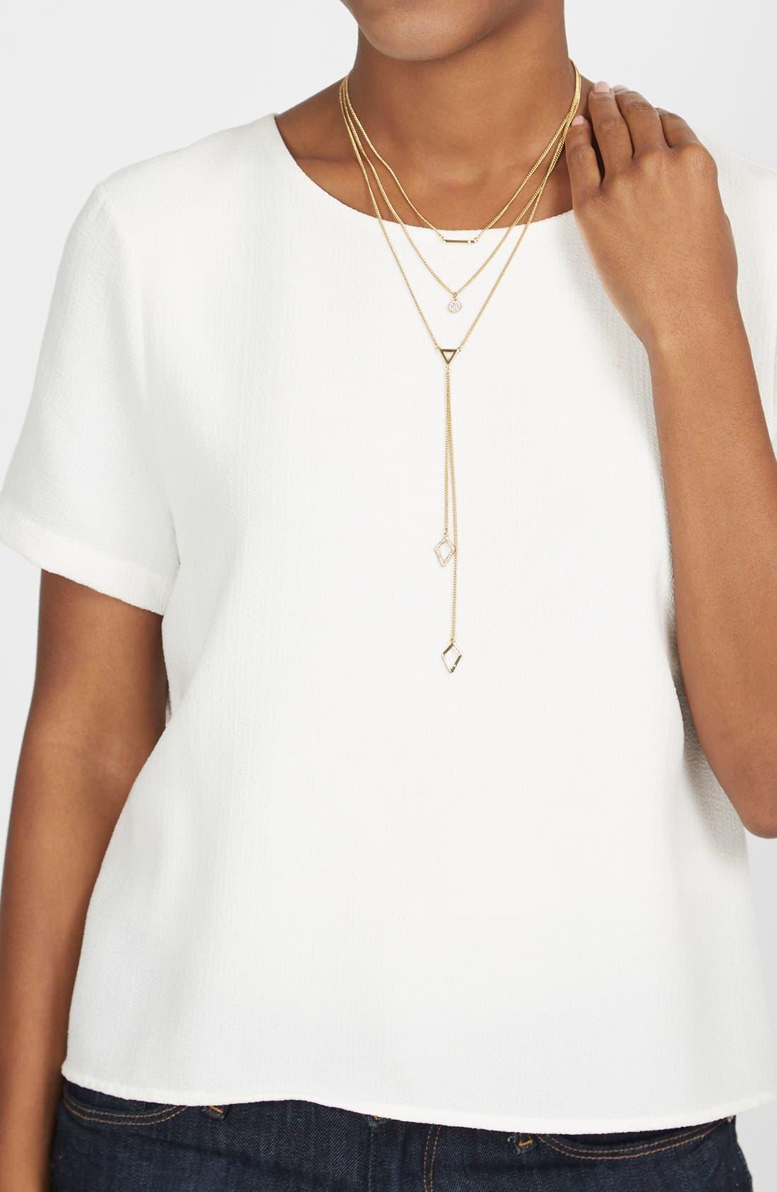Alternate Image 4  - BaubleBar 'Facets' Layered Necklace