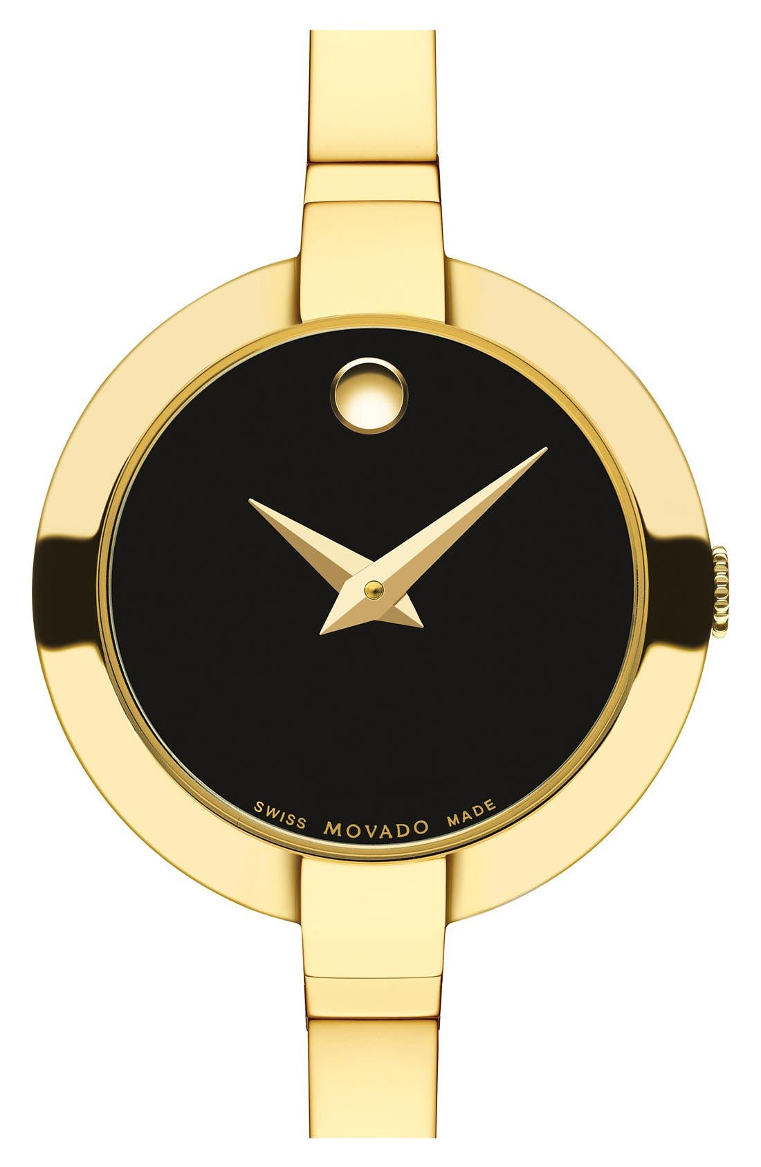 Movado 'Bela' Bangle Watch, 25mm