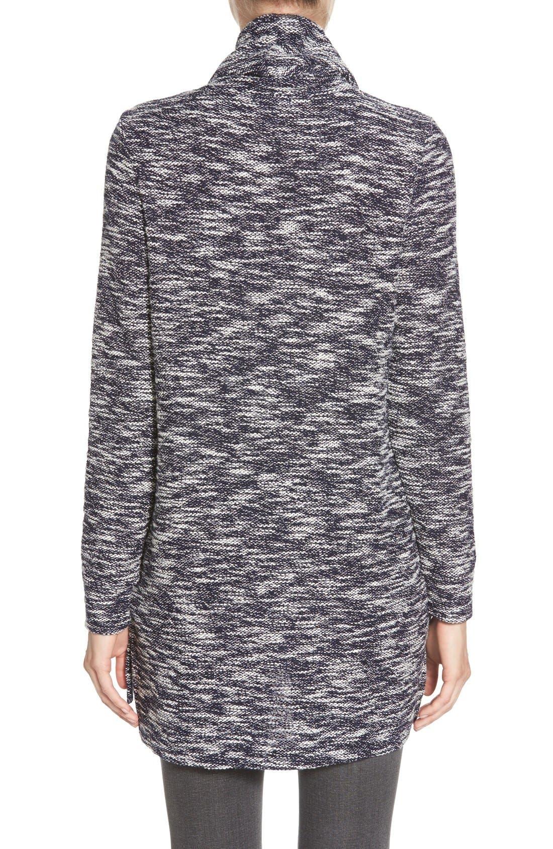 Alternate Image 2  - Caslon® Knit Cowl Neck Tunic (Regular & Petite)