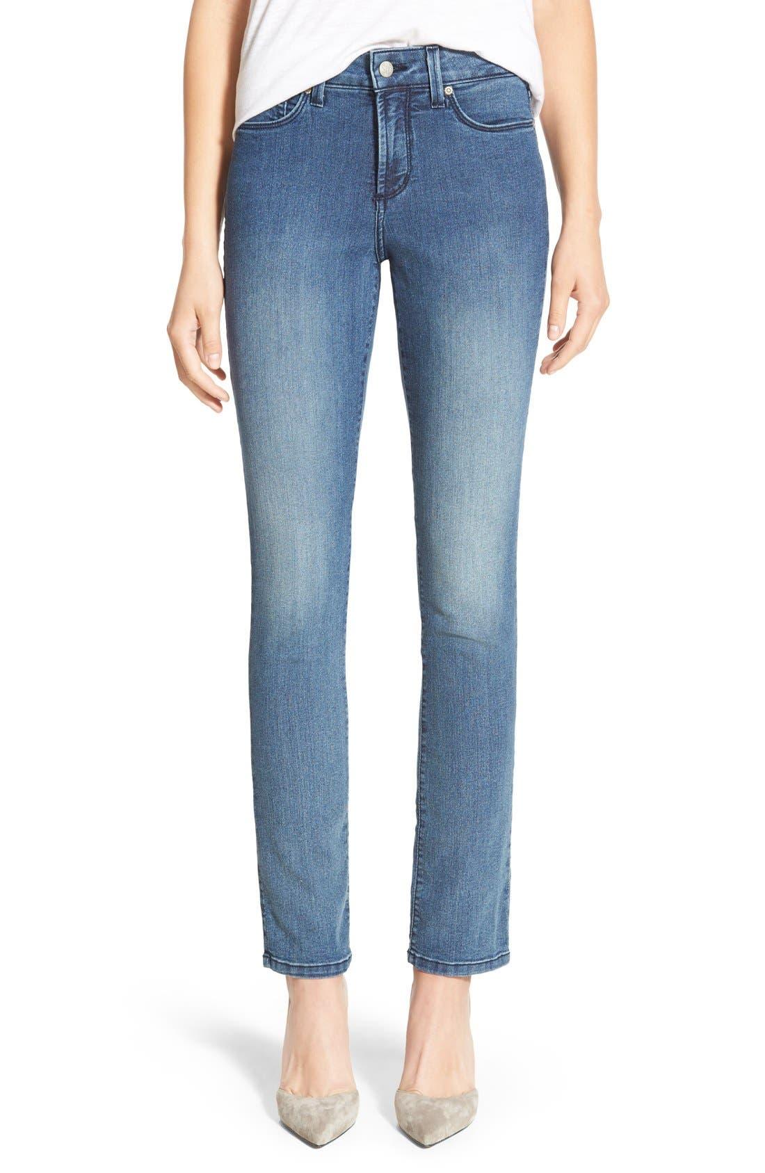 Alternate Image 1 Selected - NYDJ 'Sheri' Stretch Skinny Jeans (Karval) (Regular & Petite)