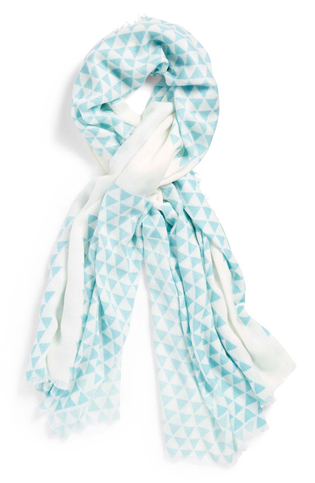 Alternate Image 1 Selected - BP. Triangle Print Scarf