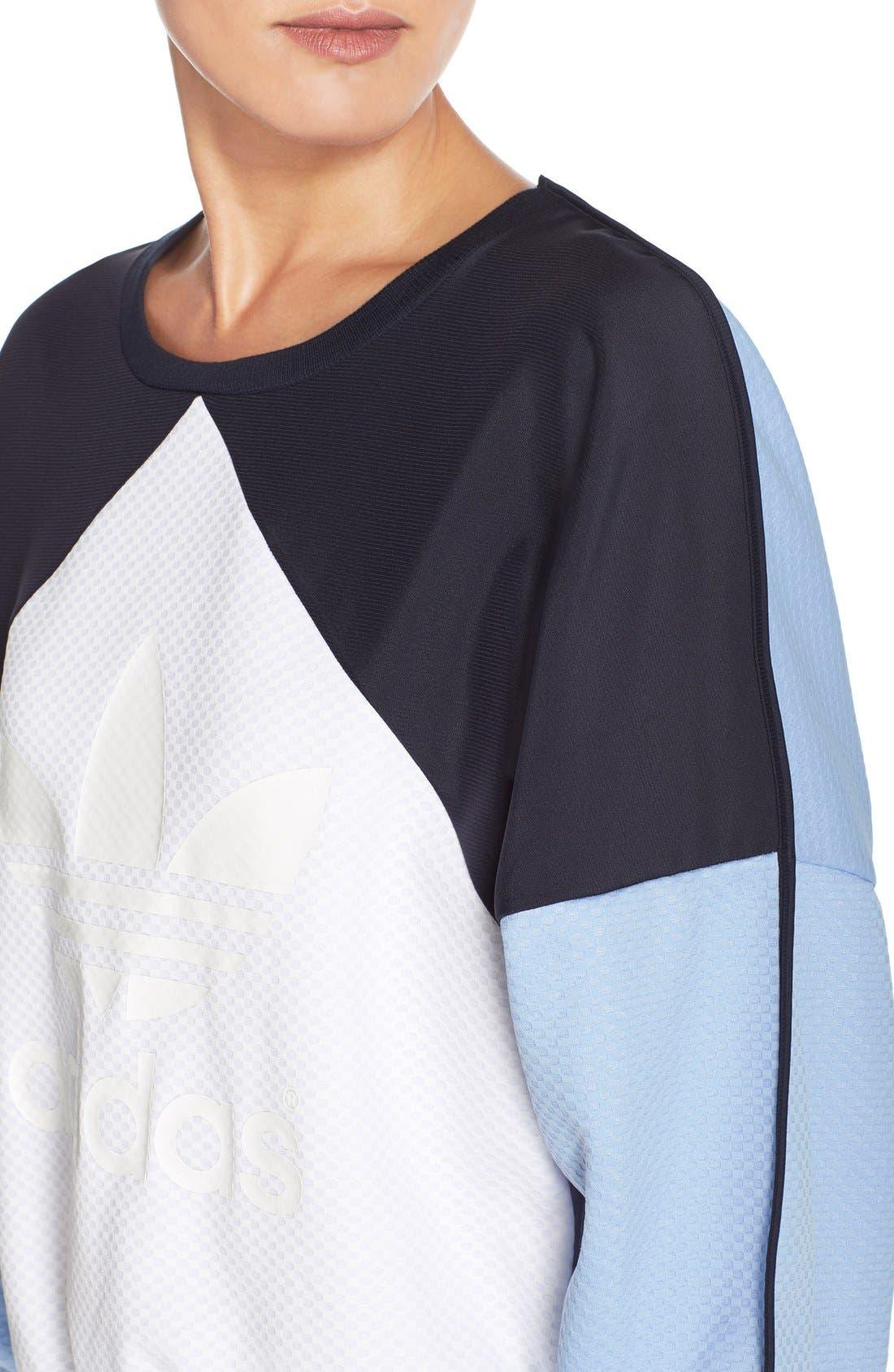 Alternate Image 4  - adidas Originals 'Helsinki' Crewneck Sweatshirt