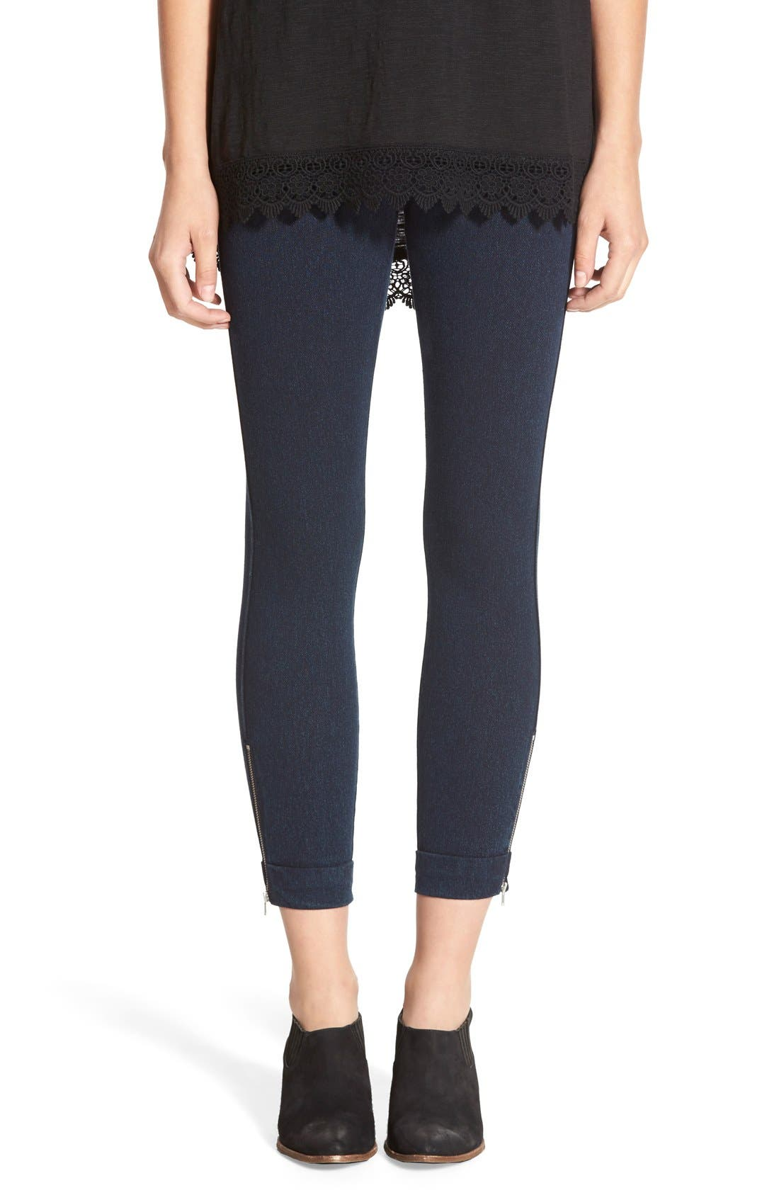 LYSSÉ Audrey Denim Ankle Leggings