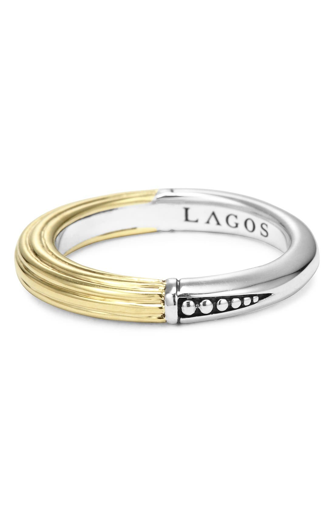 Alternate Image 2  - LAGOS Ribbed Stacking Ring