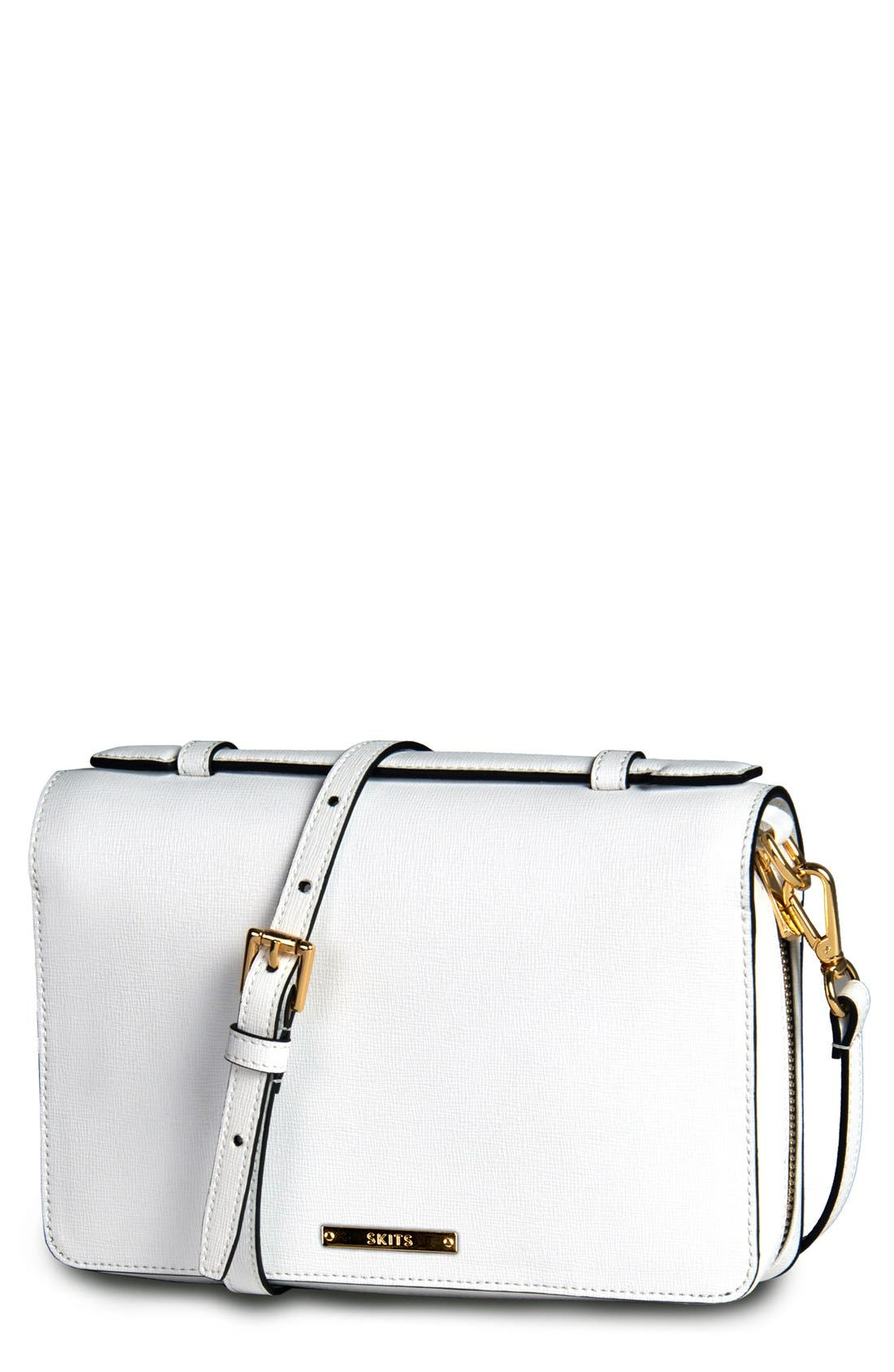 Main Image - SKITS Providence Clever Leather Compact Tech Bag
