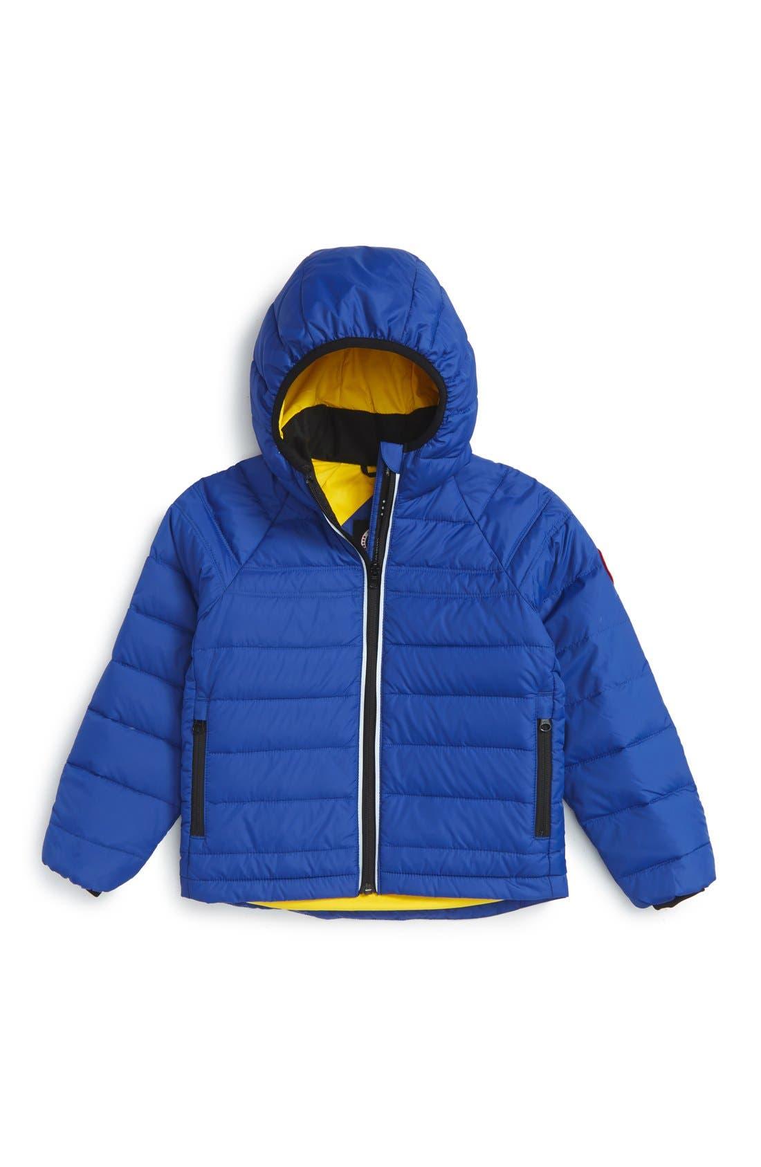 Main Image - Canada Goose 'Bobcat' Packable Down Coat (Toddler & Little Kid)