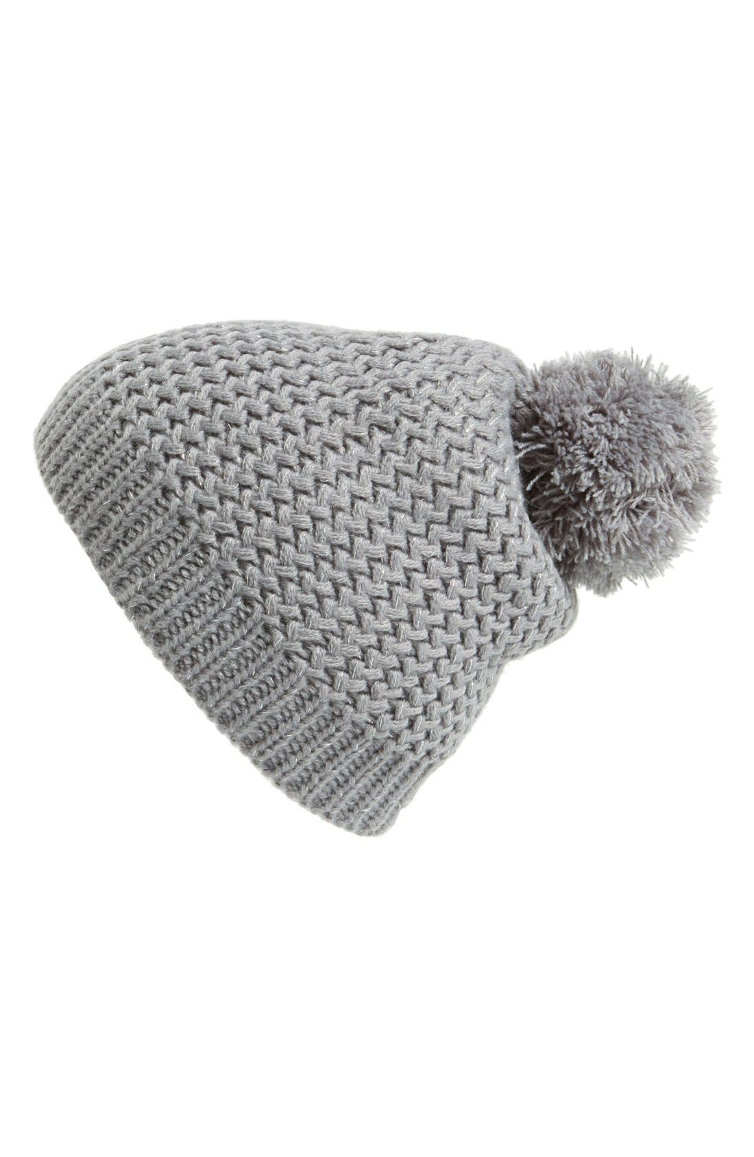 Main Image - Capelli of New York Metallic Knit Beanie