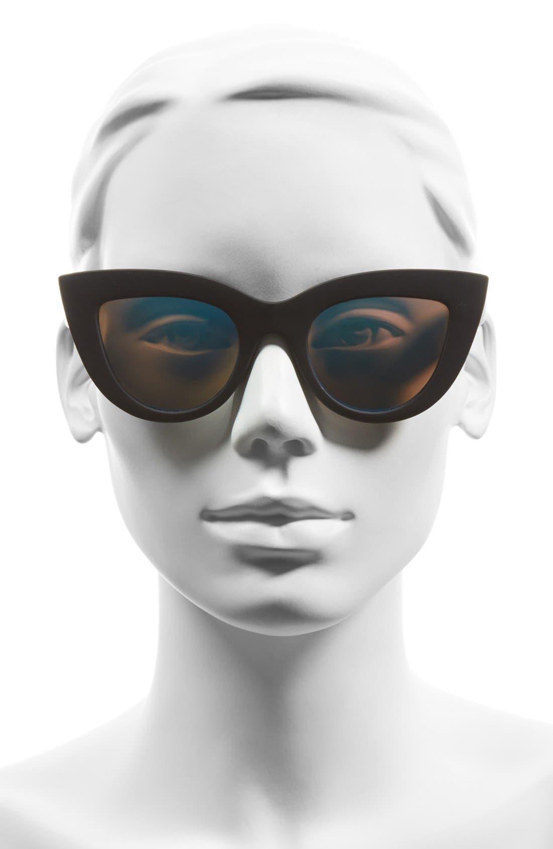 Alternate Image 2  - Quay Australia 'Kitti' 48mm Cat Eye Sunglasses