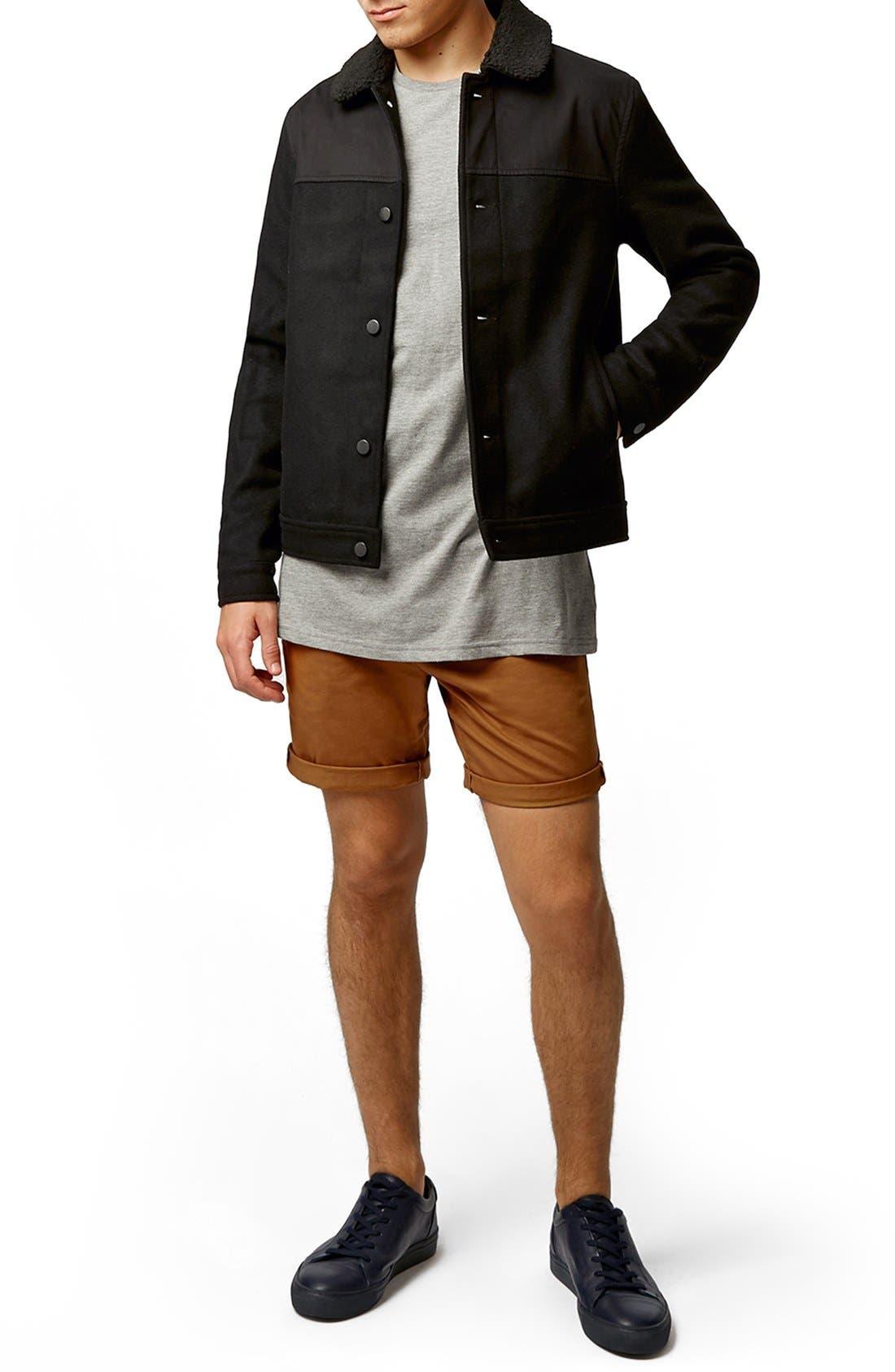 Alternate Image 5  - Topman Chino Shorts