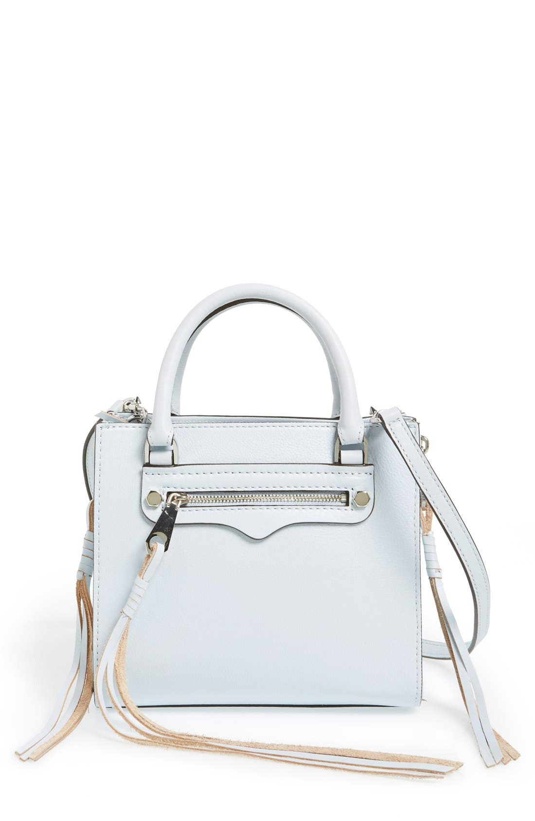 Main Image - Rebecca Minkoff 'Side Zip Mini Regan' Crossbody Bag (Nordstrom Exclusive)