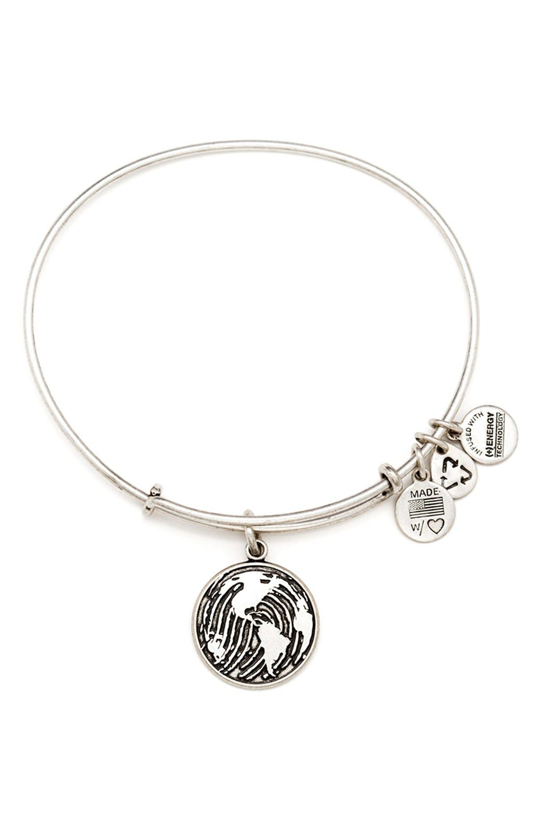 Main Image - Alex and Ani 'Charity by Design - Generation' Expandable Wire Bangle