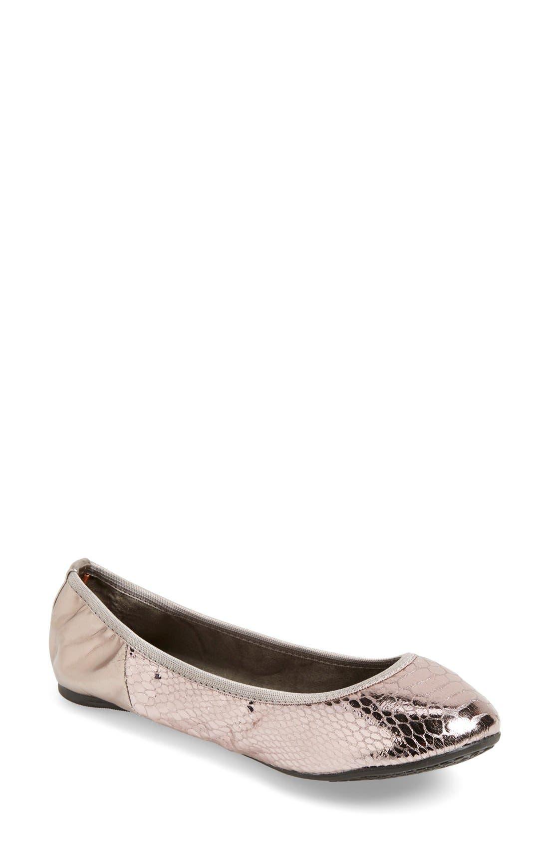 Alternate Image 1 Selected - Butterfly Twists 'Vivienne' Foldable Ballet Flat (Women)