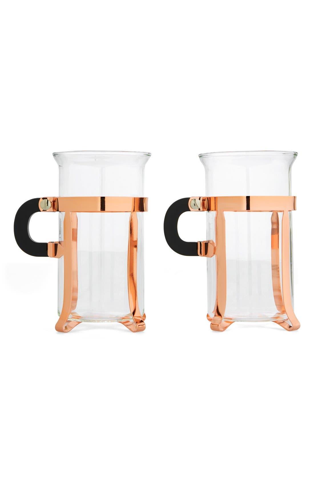 Alternate Image 1 Selected - Bodum 'Chambord Classic' Glass Mugs (Set of 2)