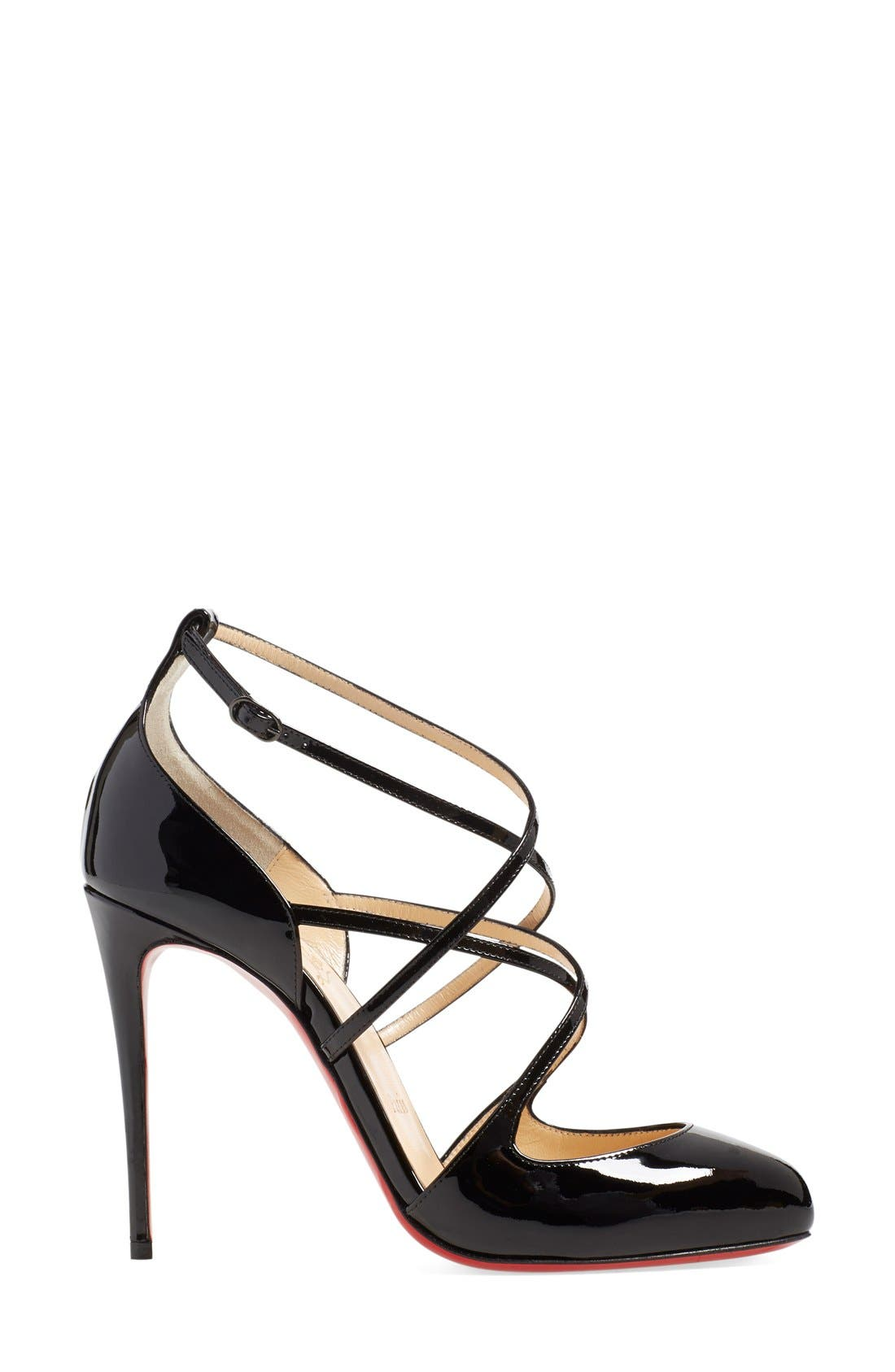Alternate Image 4  - Christian Louboutin 'Soustelissimo' Ankle Strap Pump