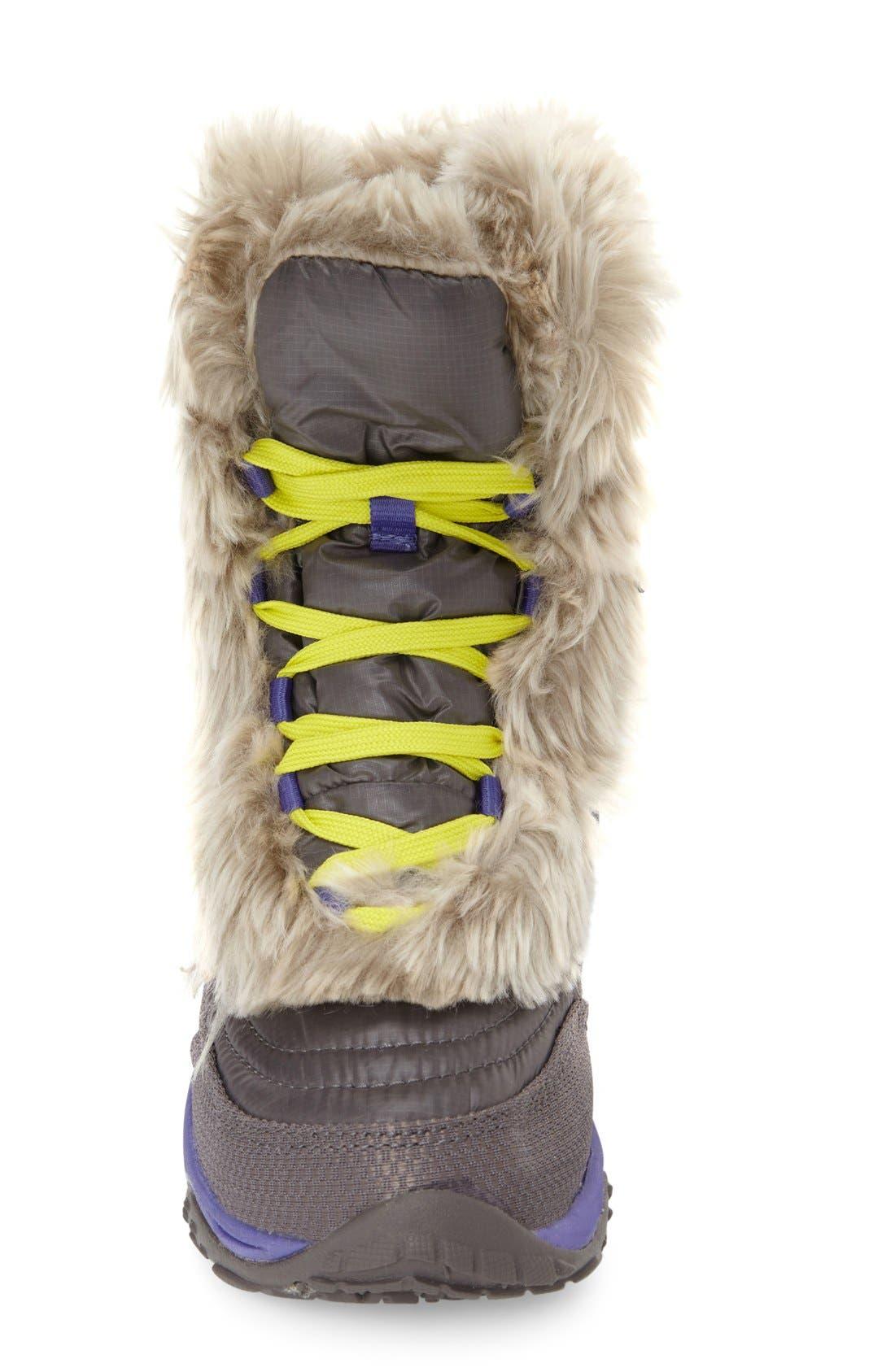 Alternate Image 3  - The North Face 'Nuptse Fur' Boot (Little Kid & Big Kid)