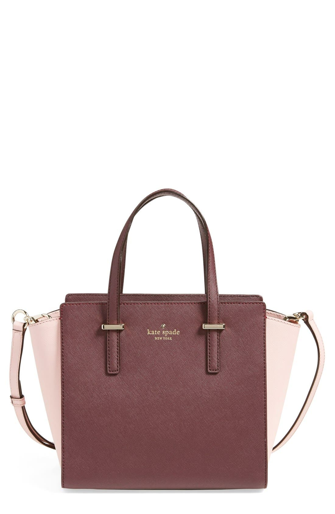 Alternate Image 1 Selected - kate spade new york 'cedar street - small hayden' leather satchel