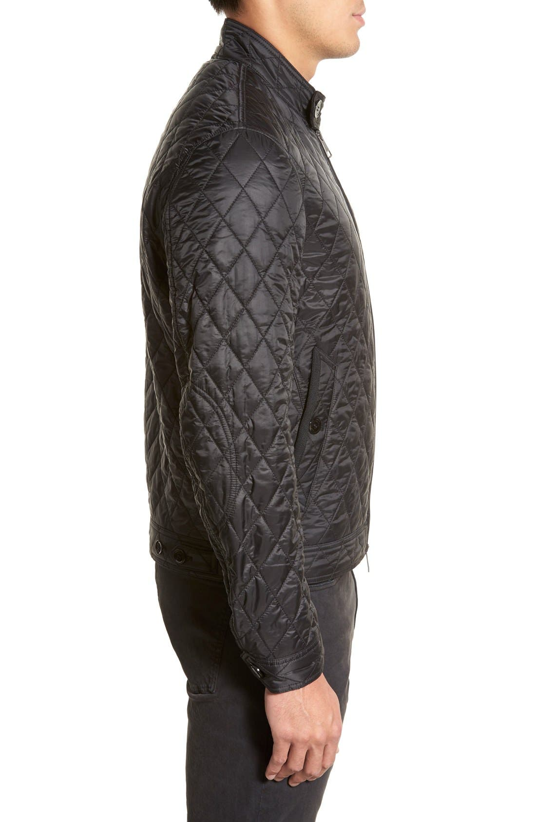 Alternate Image 4  - Burberry Brit 'Howson' Quilted Bomber Jacket