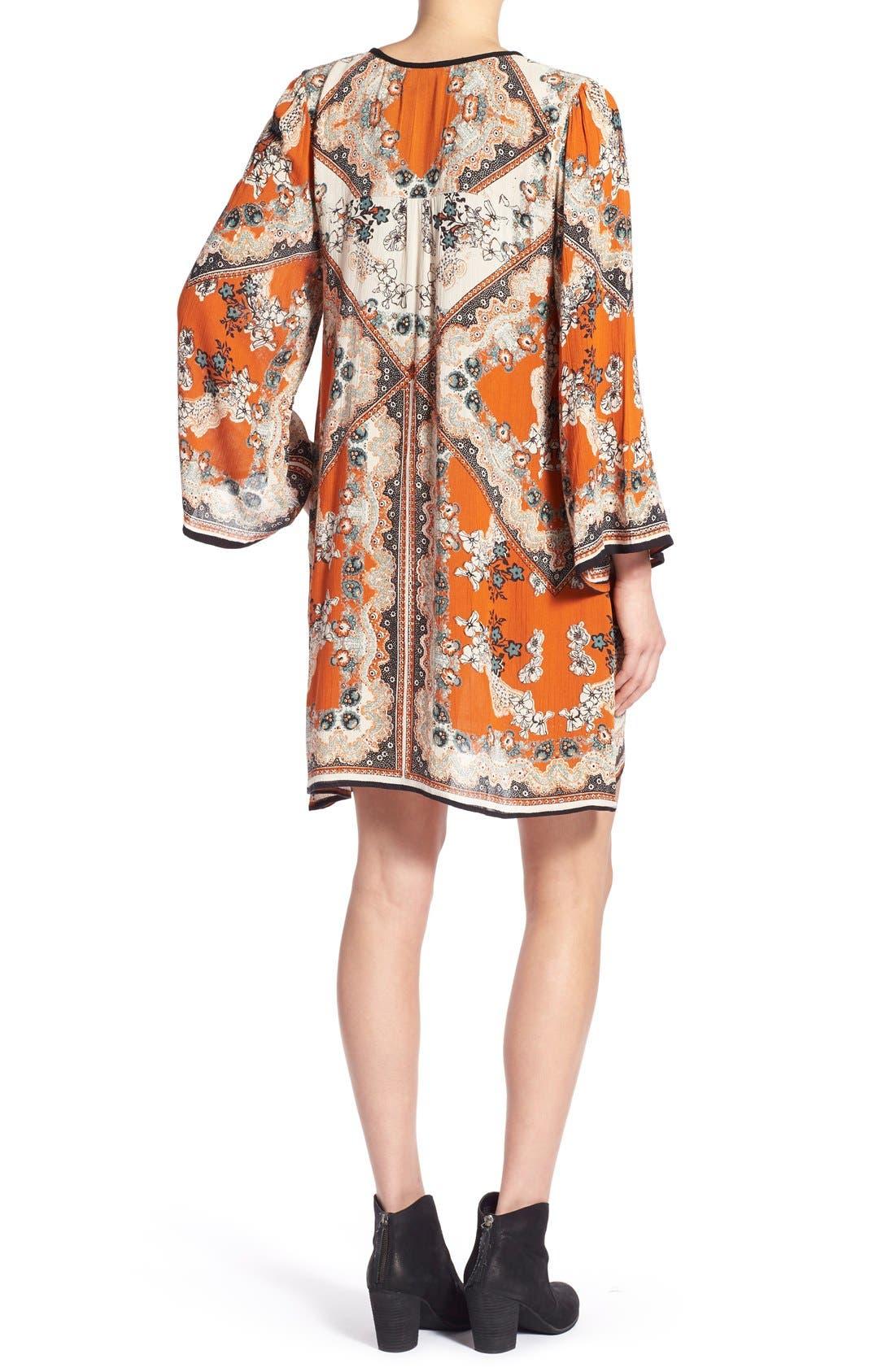 Alternate Image 2  - Angie Print Shift Dress