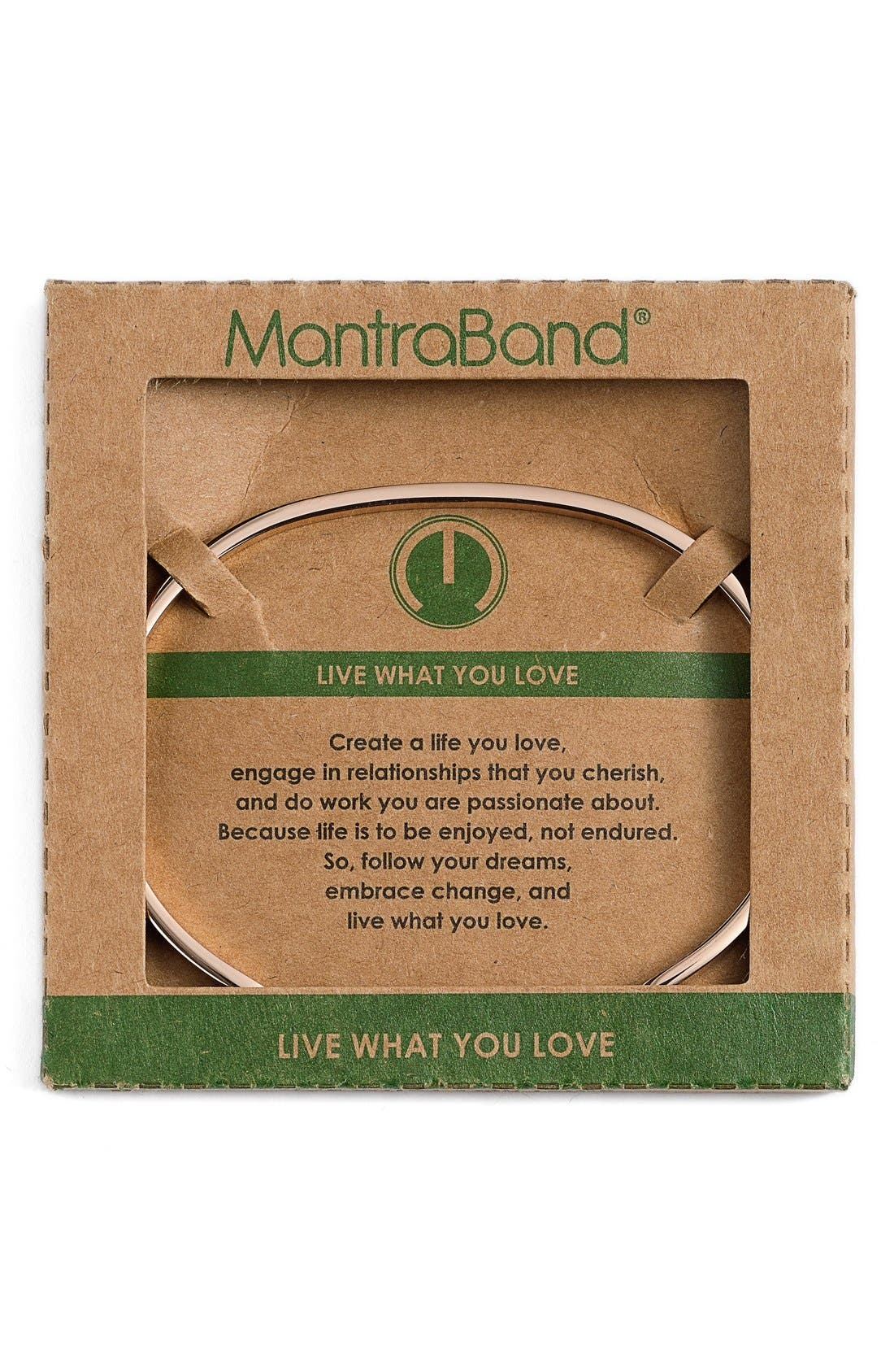 Alternate Image 2  - MantraBand® 'Live What You Love' Cuff