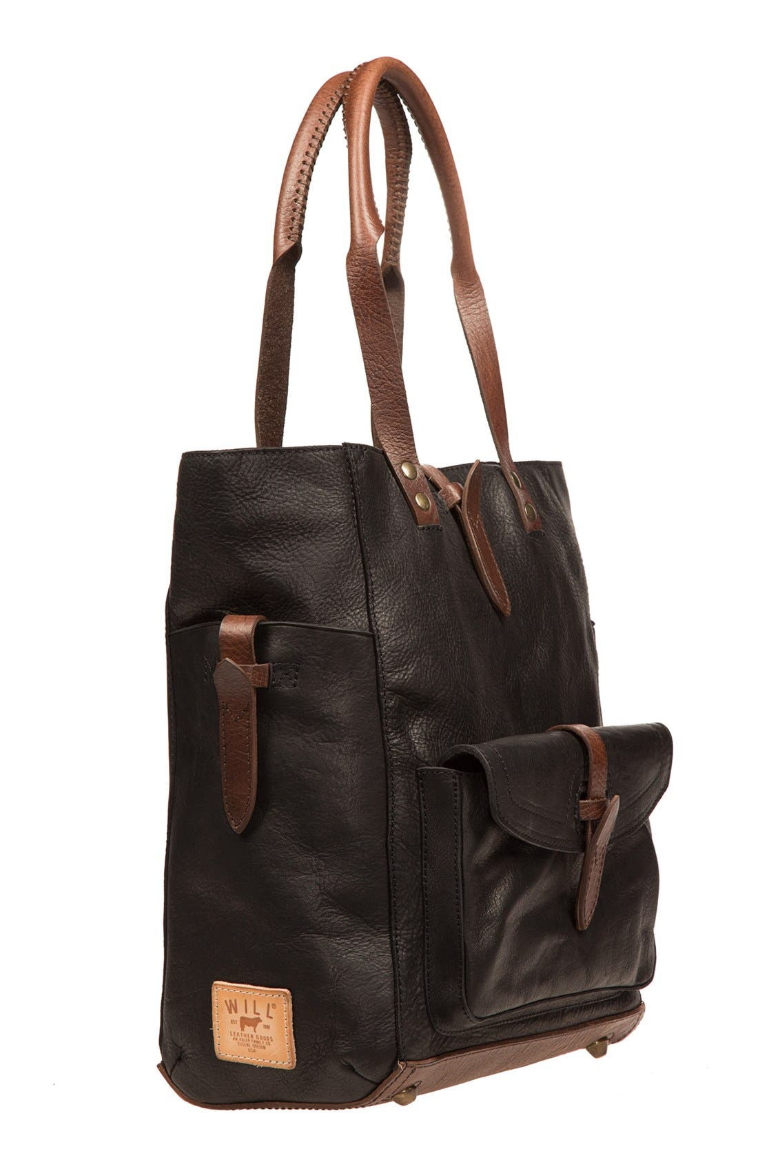 Alternate Image 4  - Will Leather Goods 'Ashland' Leather Tote