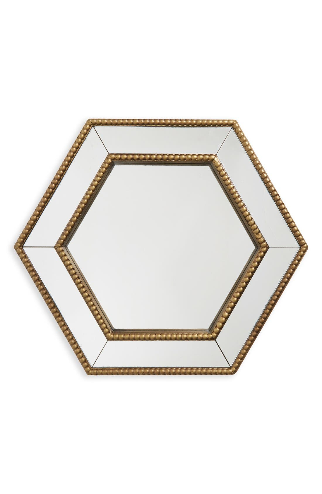 Era Home 'Gold Hexagon' Mirror