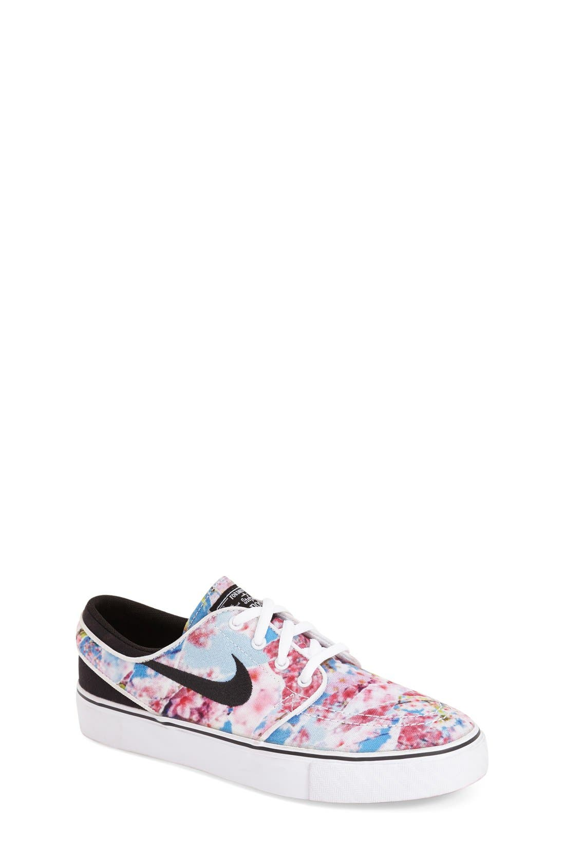 Alternate Image 1 Selected - Nike 'Stefan Janoski' Premium Canvas Sneaker (Big Kid)