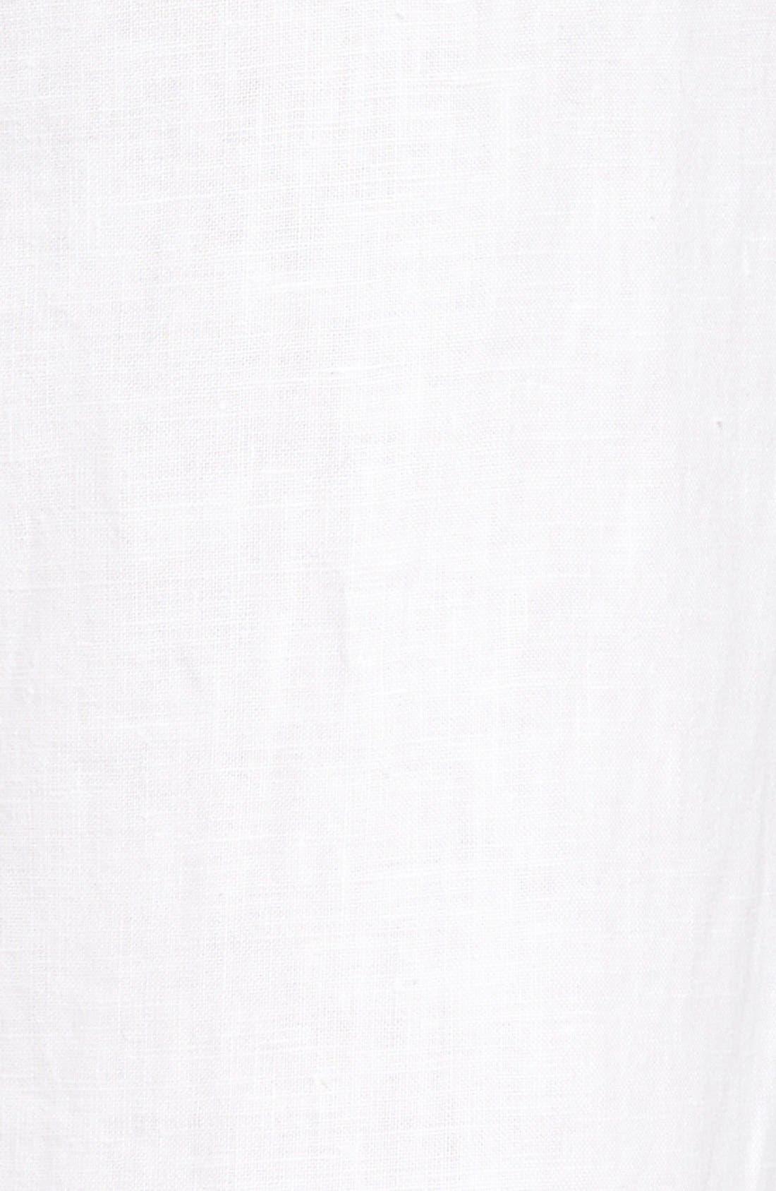 Alternate Image 5  - Caslon® Drawstring Linen Pants (Regular & Petite)