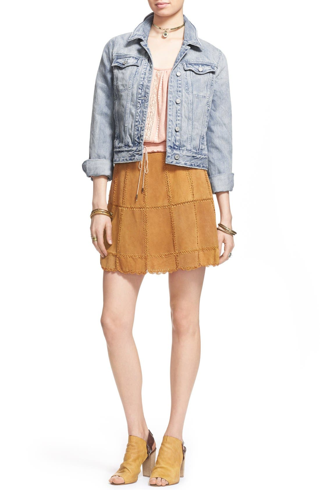 Alternate Image 2  - Free People Denim Jacket