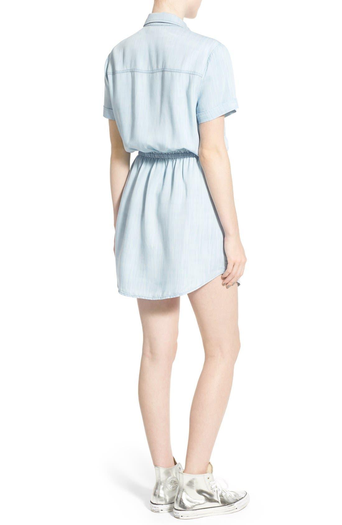 Alternate Image 3  - BP. Chambray Shirtdress