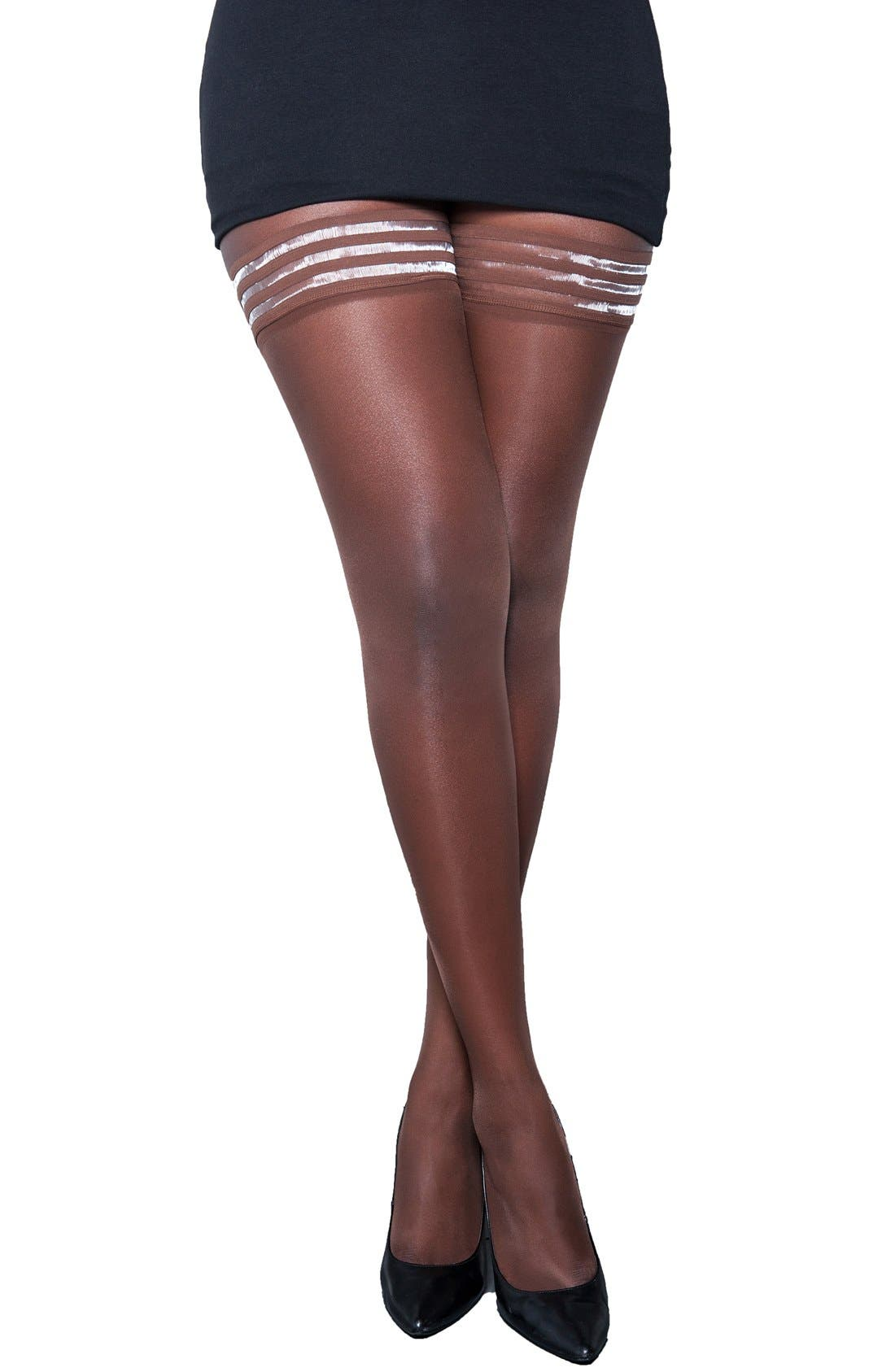 Nubian Skin Sheer Matte Stay-Ups