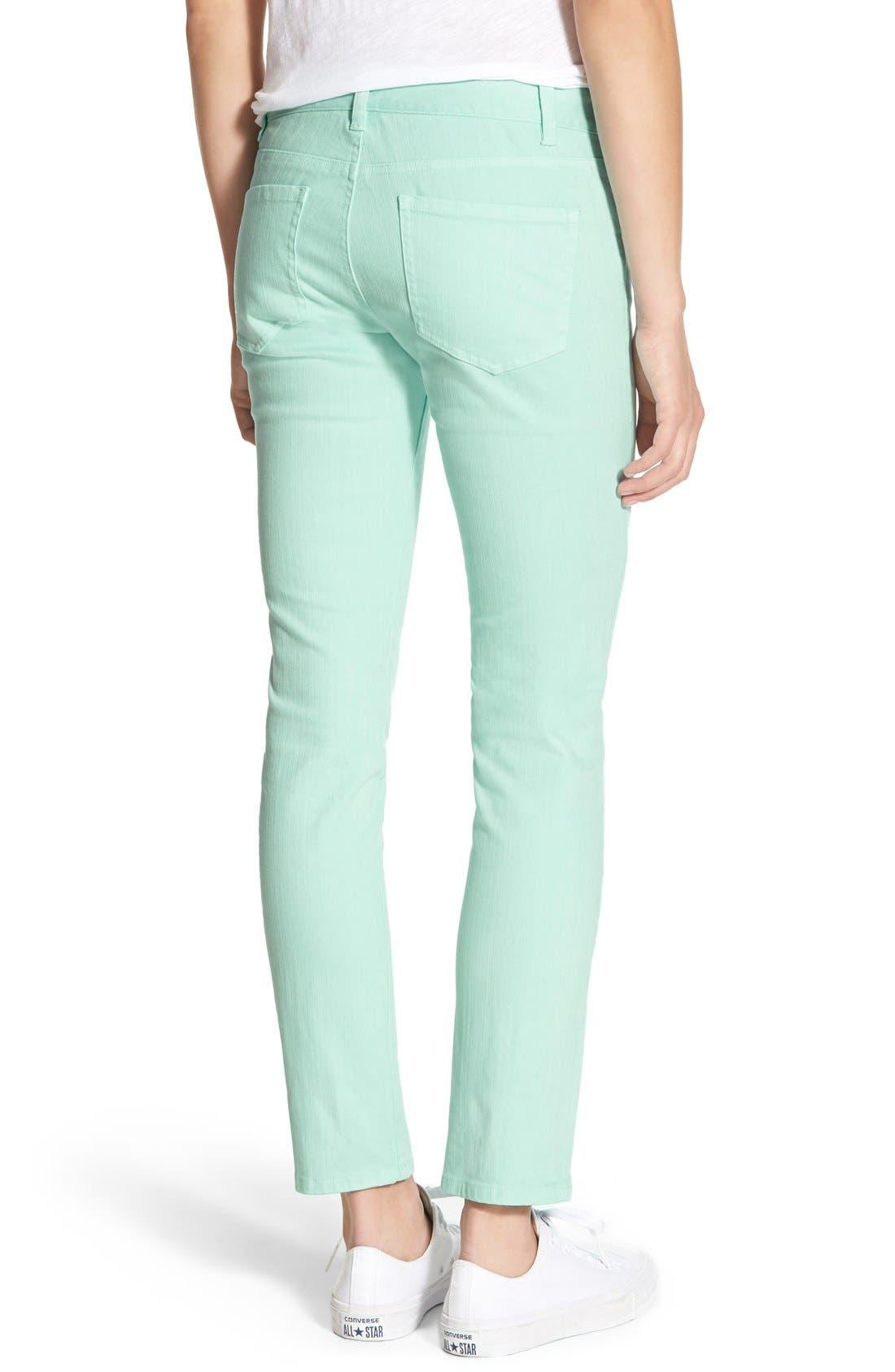 Alternate Image 2  - Vineyard Vines Colored Skinny Jeans