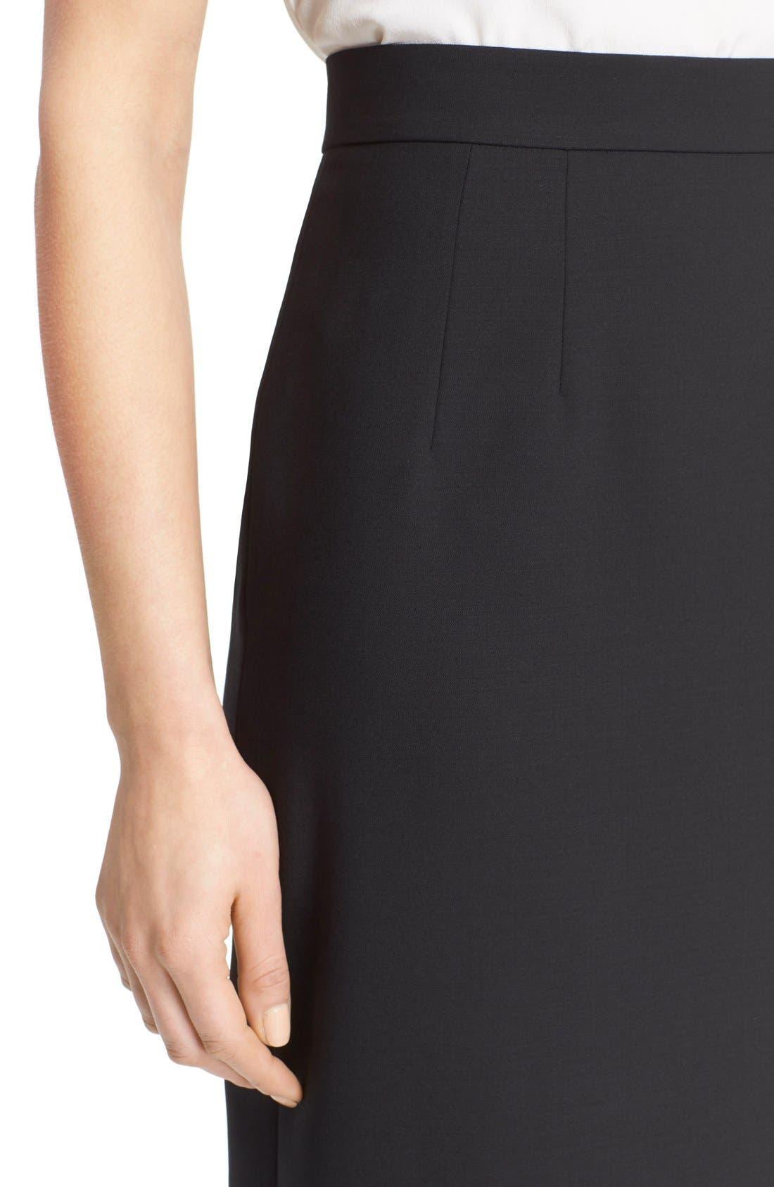Alternate Image 5  - Dolce&Gabbana Stretch Wool Pencil Skirt