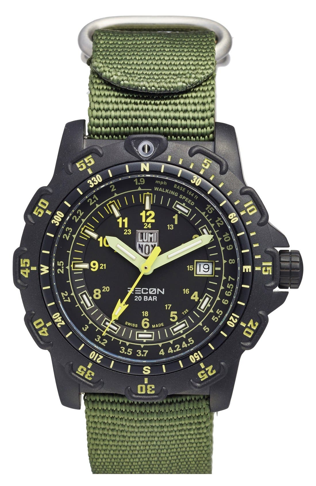 LUMINOX 'Land - Recon Point Man' Nylon Strap