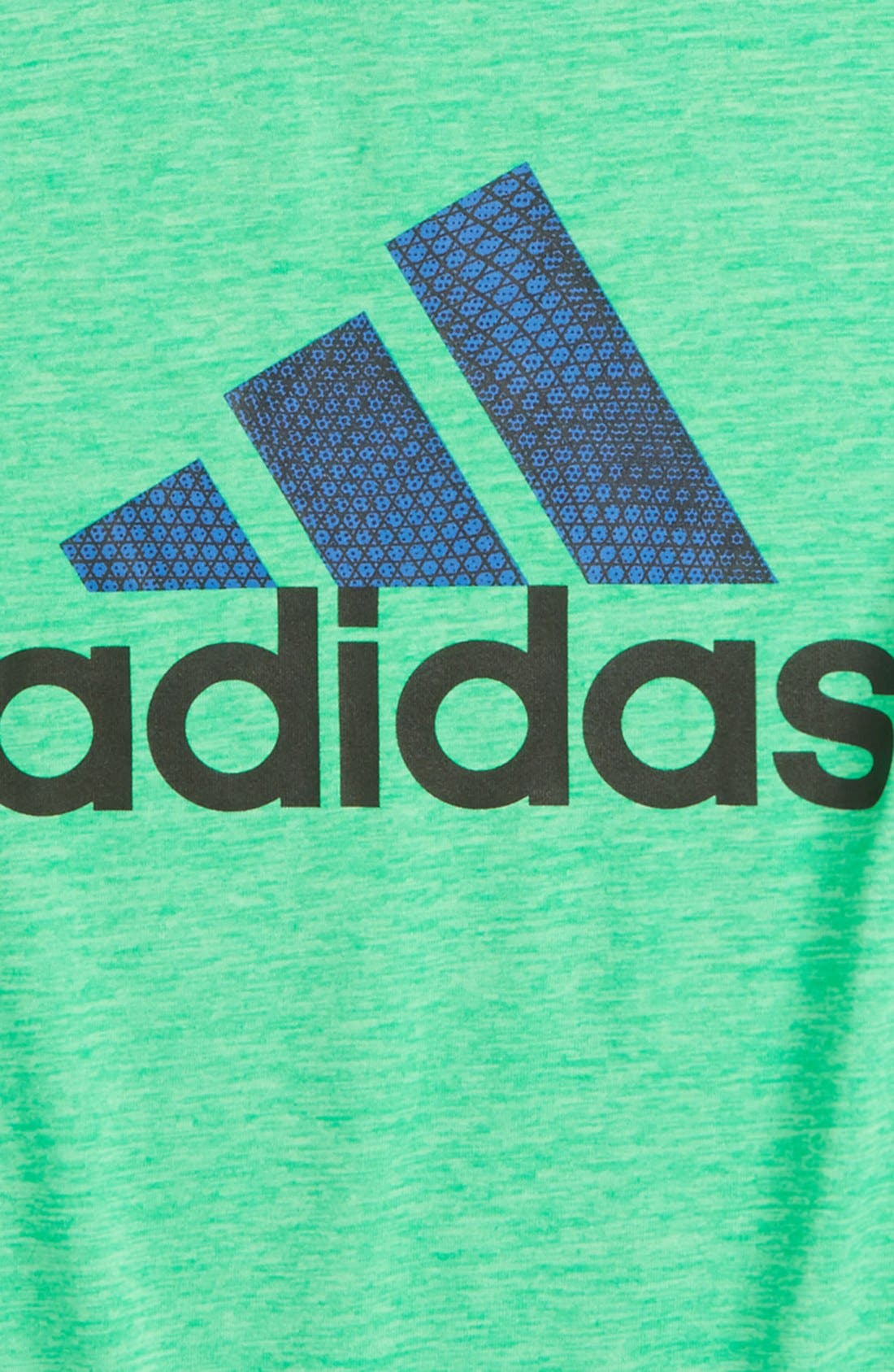 Alternate Image 2  - adidas 'Game On' CLIMALITE® T-Shirt (Toddler Boys & Little Boys)