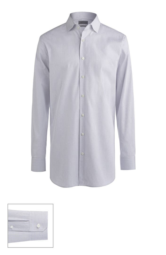 John w nordstrom made to measure extra trim fit spread for Extra trim fit dress shirt