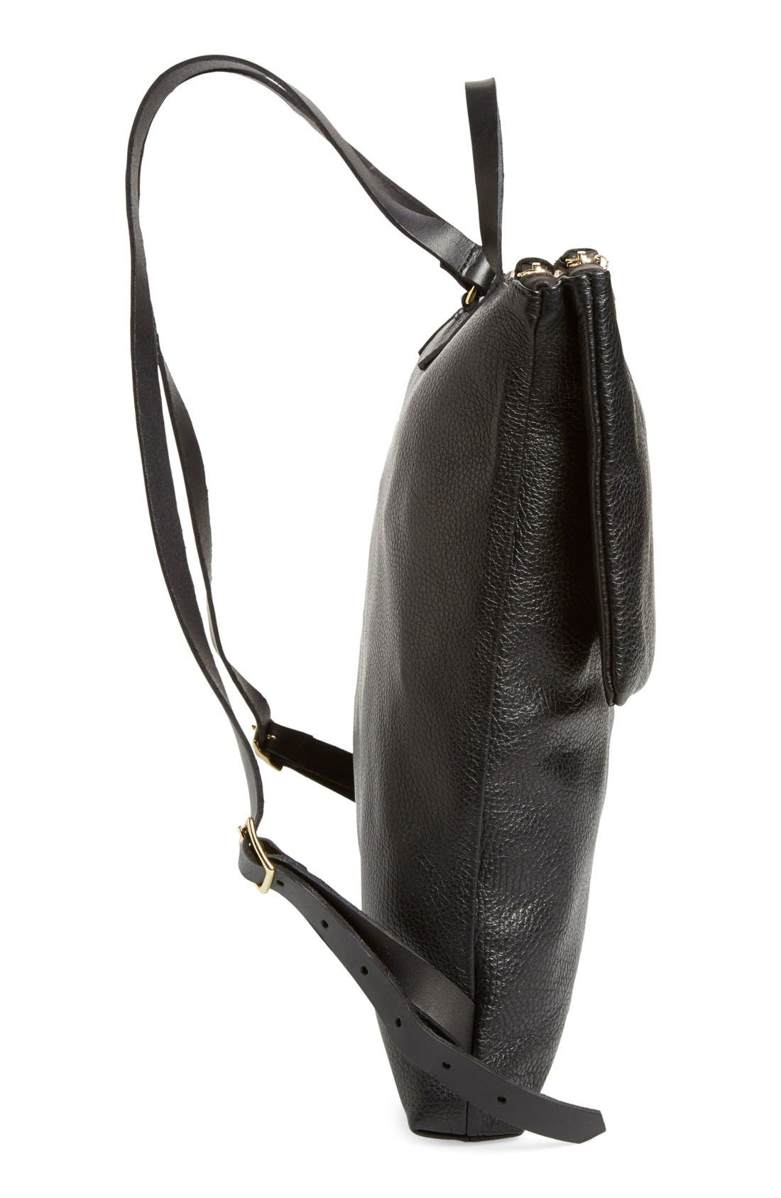 Alternate Image 5  - Clare V. 'Agnes Maison' Leather Backpack