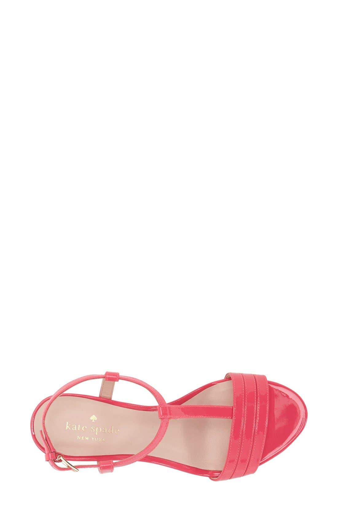 Alternate Image 4  - kate spade new york 'tallin' wedge sandal (Women)