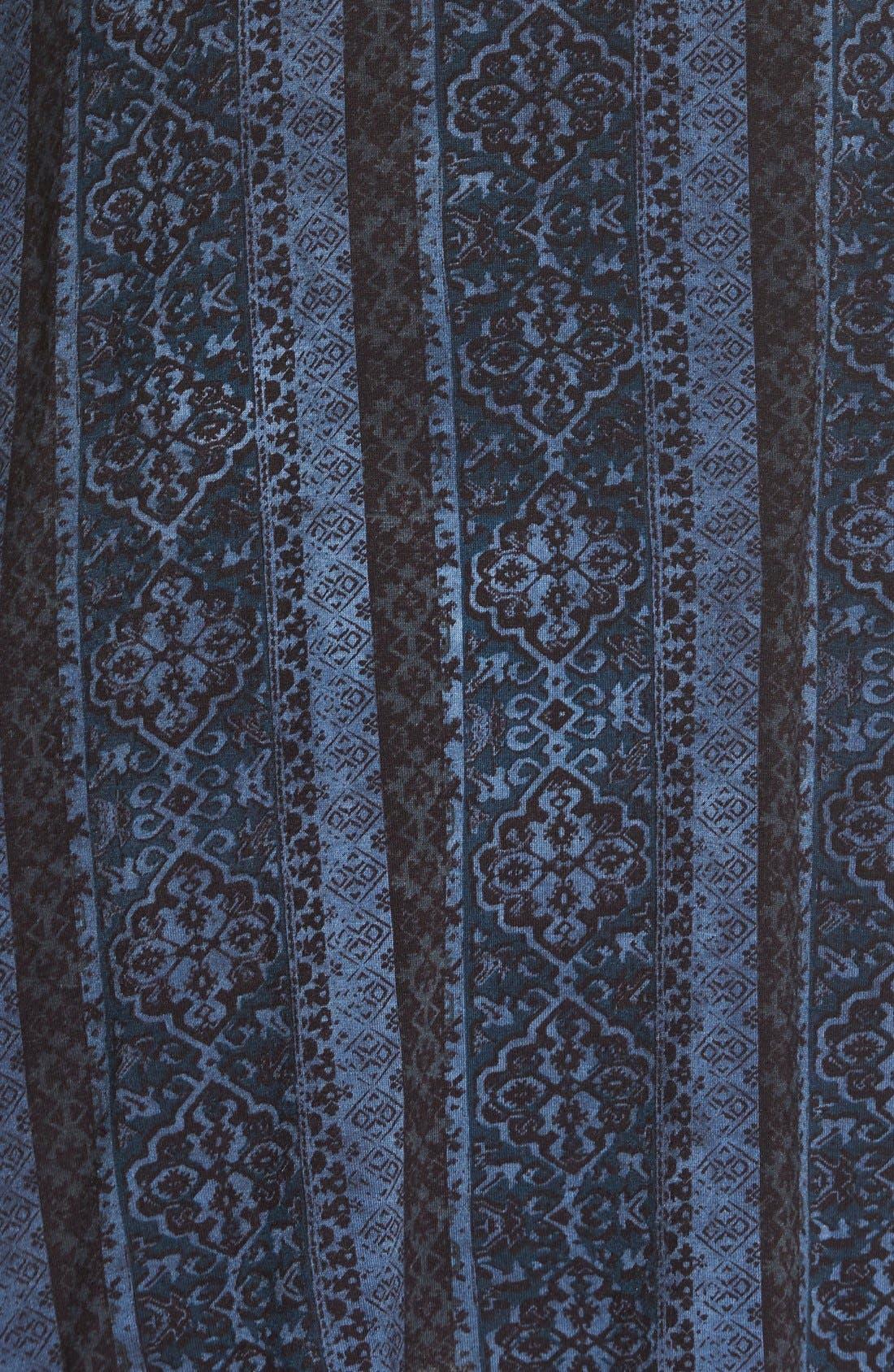 Alternate Image 5  - Socialite Print Cross Back Knit Dress