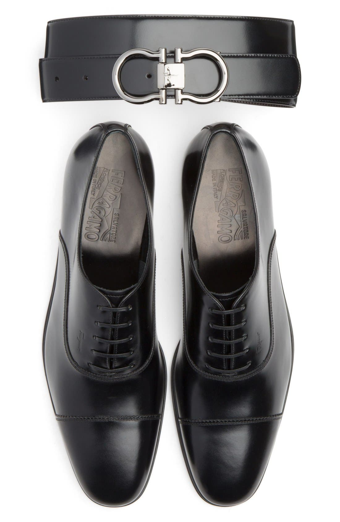 Alternate Image 5  - Salvatore Ferragamo 'Remigio' Cap Toe Oxford (Men)