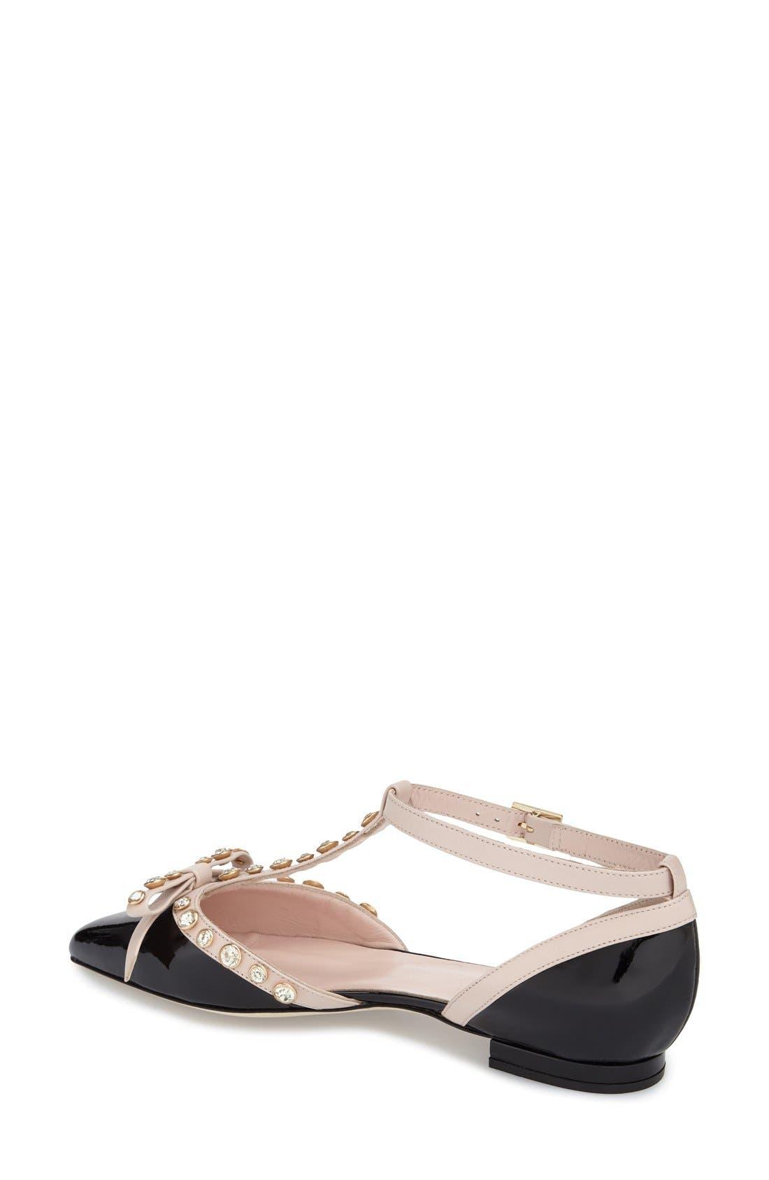 Alternate Image 2  - kate spade new york 'becca' t-strap sandal (women)