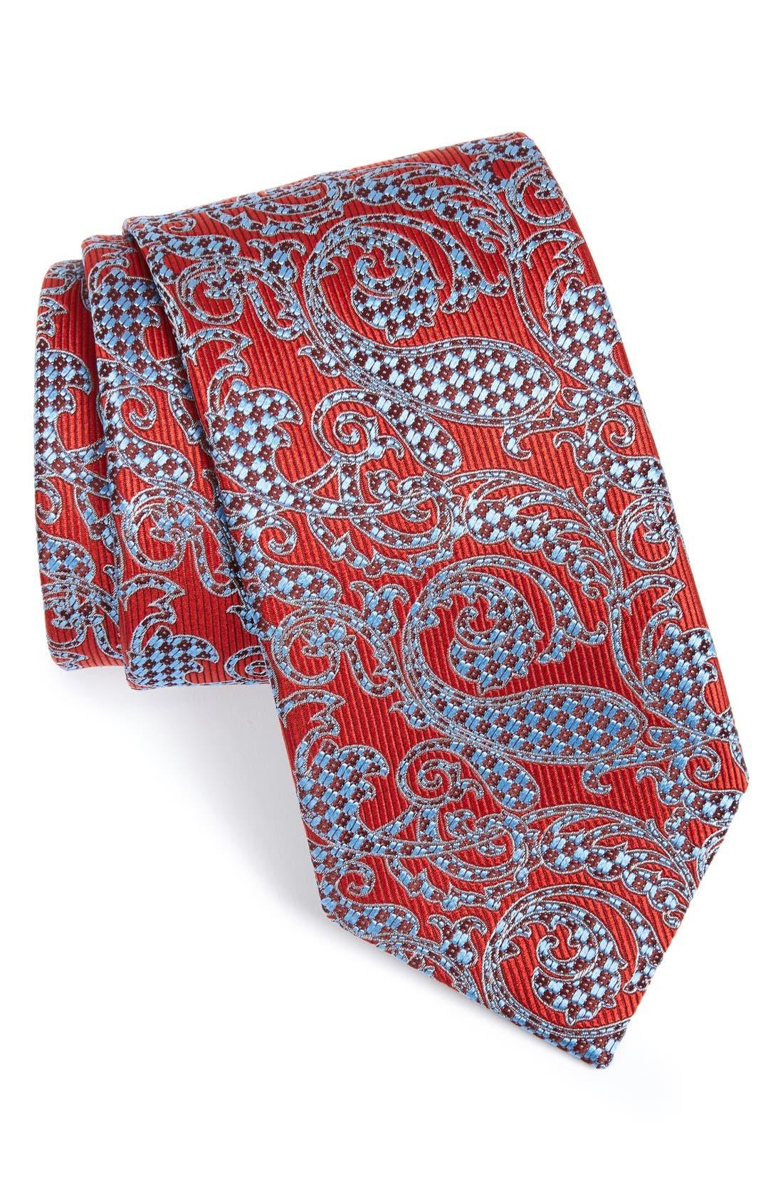 Alternate Image 1 Selected - Ermenegildo Zegna Paisley Silk Tie