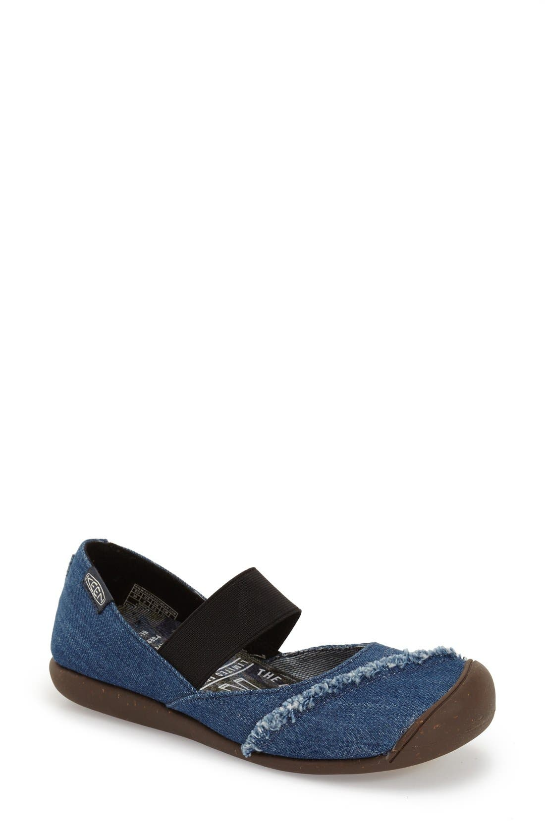 Alternate Image 1 Selected - Keen 'Good Jeans' Mary Jane Flat (Women)