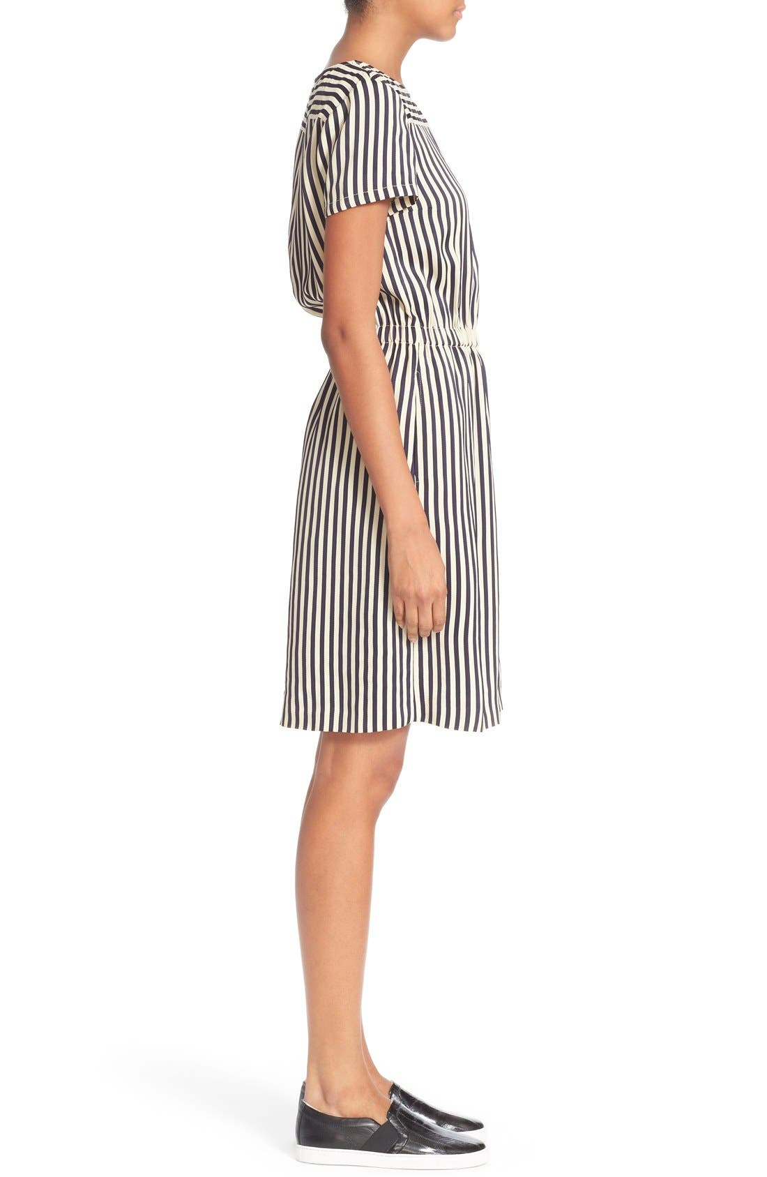 Alternate Image 3  - A.P.C. 'Robe Key West' Stripe Dress