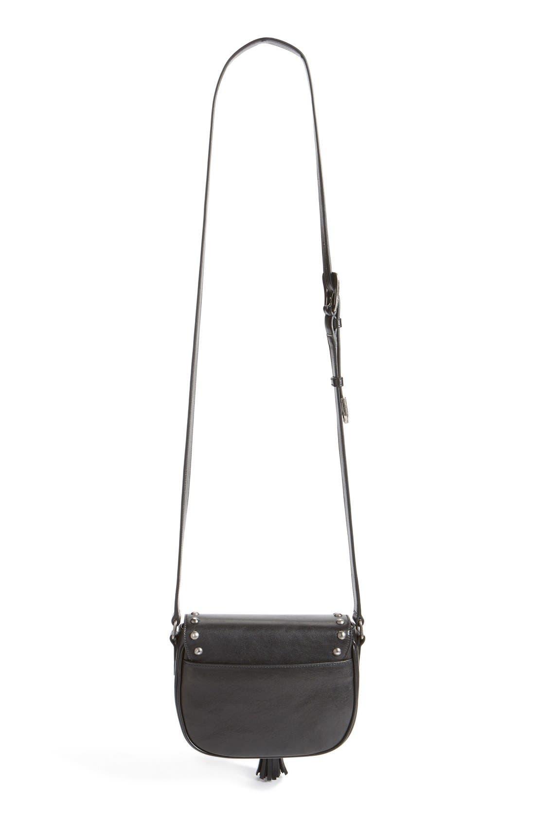 Alternate Image 3  - Saint Laurent 'Small Kim' Calfskin Crossbody Bag