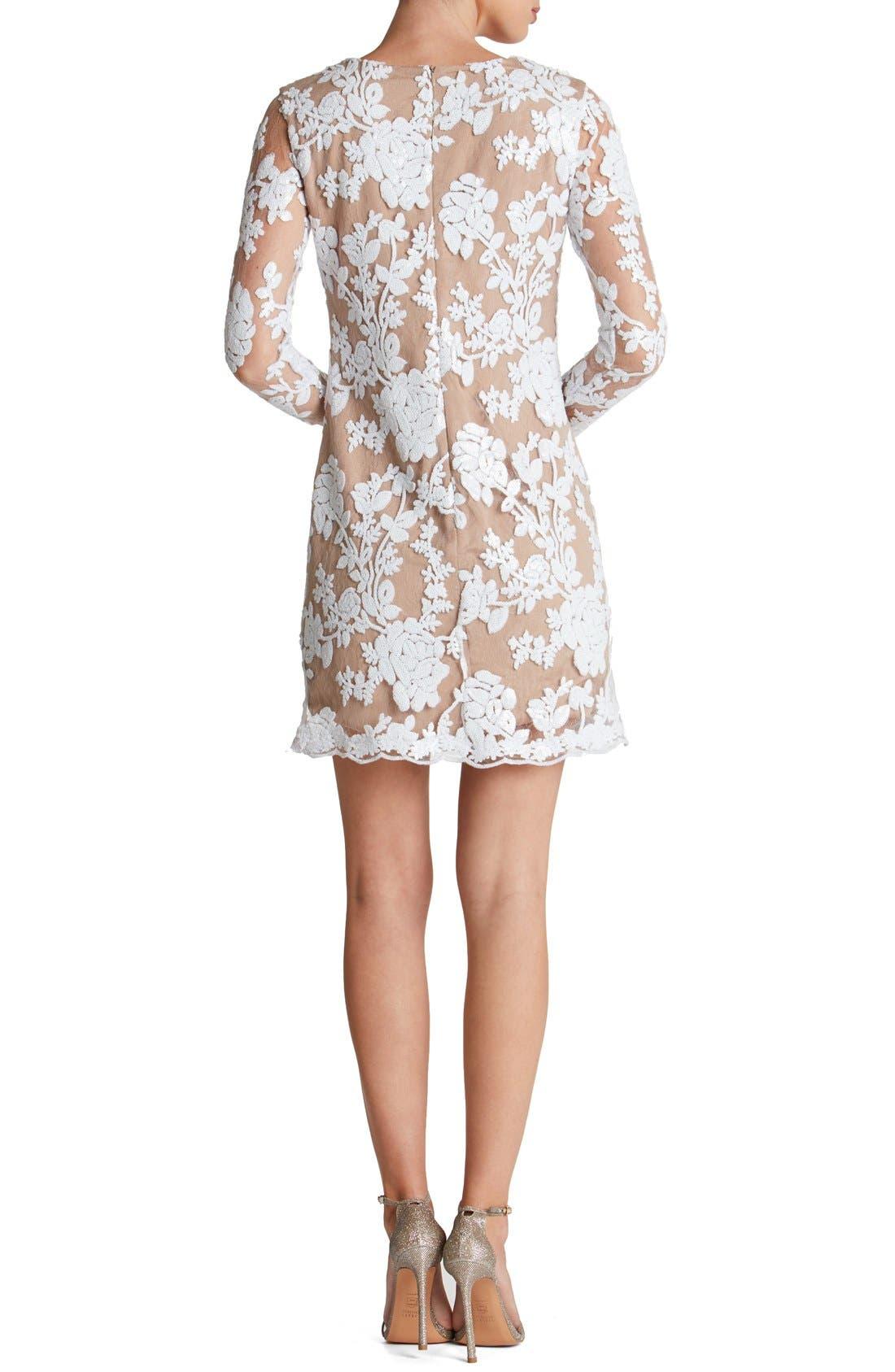 Alternate Image 2  - Dress the Population Grace A-Line Dress