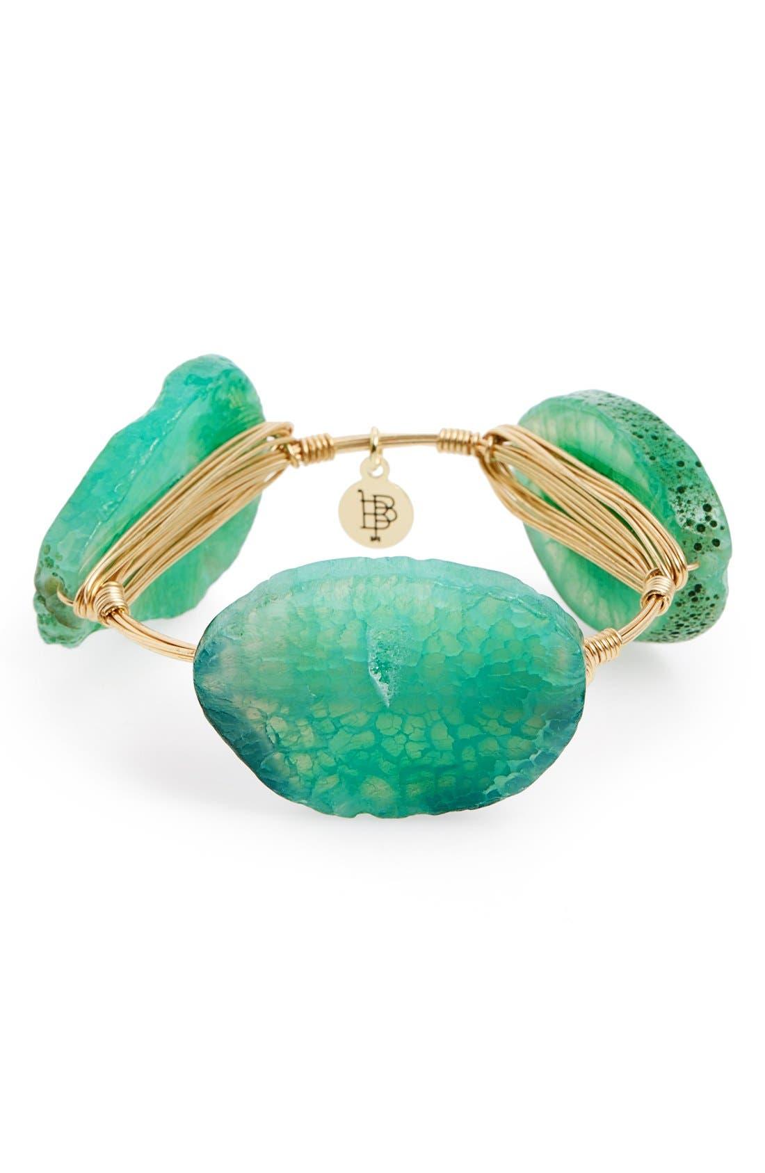 Alternate Image 1 Selected - Bourbon and Boweties Stone Bracelet