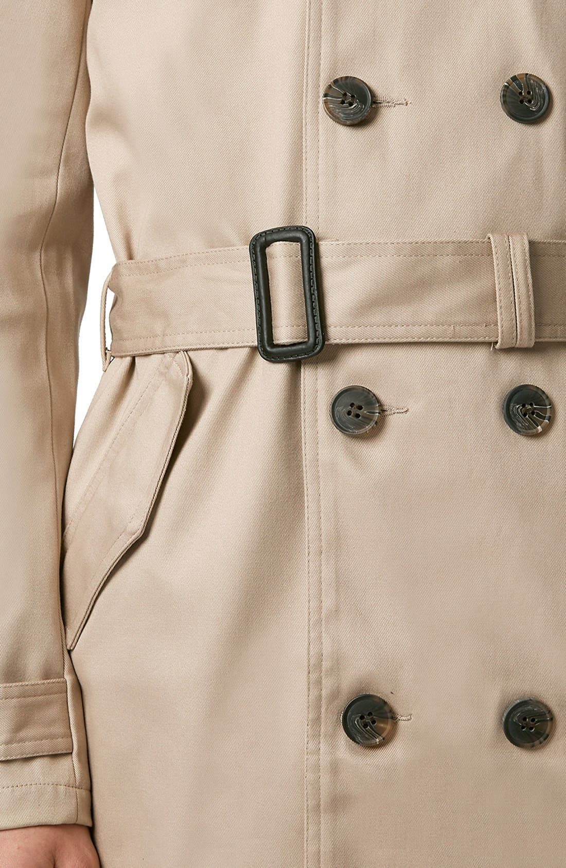 Alternate Image 3  - Topman Double Breasted Trench Coat